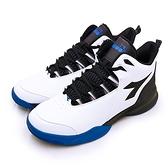 LIKA夢 DIADORA 迪亞多那 專業2E寬楦籃球鞋 空中堡壘系列 白黑藍 71103 男