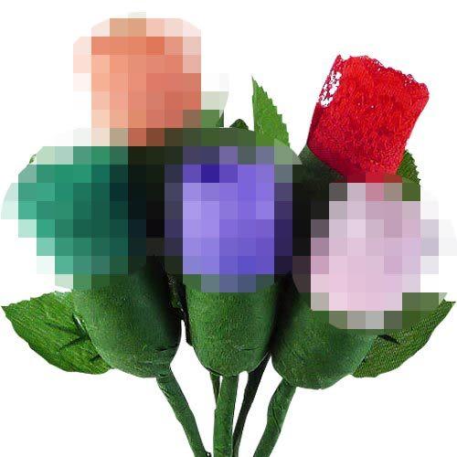 性感丁字褲 情趣商品 女性商品 調情內褲 小花束內褲(女)-紅