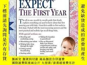 二手書博民逛書店What罕見to Expect the First YearY1