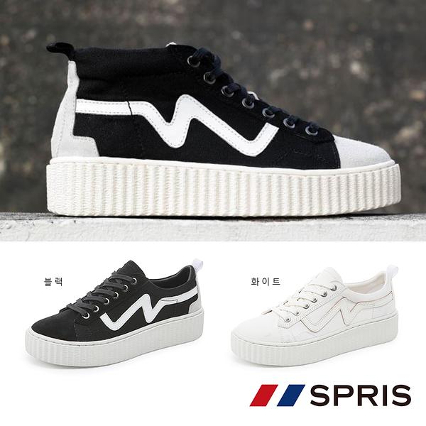 周子瑜 TWICE x 韓國 SPRIS 聯名鞋款 UPBEAT 心跳悸動帆布鞋系列 平板鞋 平底鞋 運動鞋