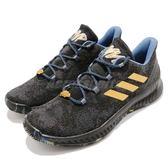 adidas 籃球鞋 Harden B/E X MVP 黑 金 特殊紀念款 低筒 舒適緩震 運動鞋 男鞋【PUMP306】 F36813