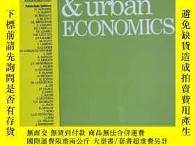 二手書博民逛書店regional罕見science & urban economics 2019年11月 英文版Y42402
