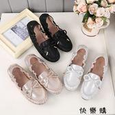 豆豆鞋百搭工作鞋女黑色平底大碼女鞋4