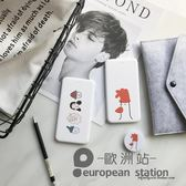 行動電源/簡約少女蘋果安卓移動電源便攜 4000毫安「歐洲站」