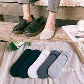 隱形襪襪子男短襪船襪男男士棉質隱形襪淺口男襪子低筒防臭吸汗防滑夏季5雙