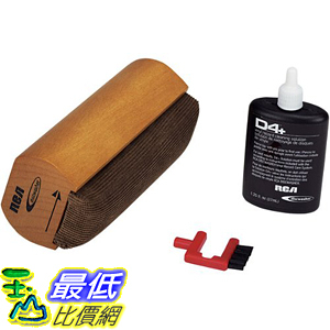 [美國直購] RCA RD-1006 黑膠唱盤 清潔工具組 Discwasher Vinyl Record Care System