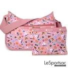 LeSportsac - Standard側背水餃包/流浪包-附化妝包 (城市日常) 7520P F688