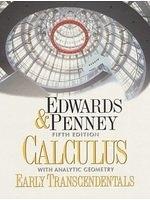 二手書 《Calculus with Analytic Geometry-Early Transcendentals Version (5th Edition)》 R2Y ISBN:0137930763