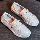 【Taroko】率性職人質感舒適雙層牛皮休閒鞋(白色全尺碼)