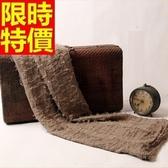 羊毛披肩-知性褶皺棉麻文藝女圍巾63ag22【巴黎精品】