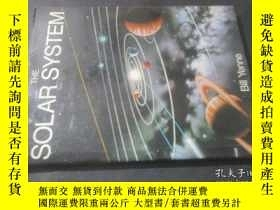 二手書博民逛書店The罕見Solar System 太陽系 精裝畫冊 16開精裝
