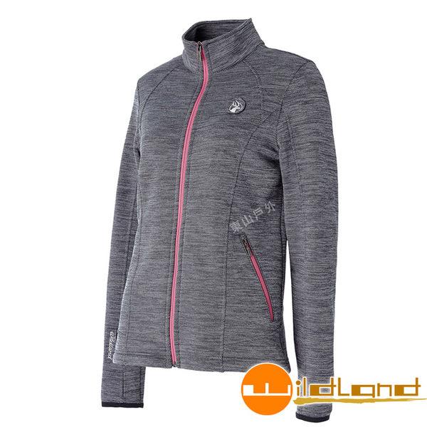 Wildland 荒野 0A52613-93深灰色 女雙色輕量保暖外套 保暖夾克/防風外套/輕量外套/爬山健行
