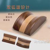 耳機支架創意金屬展示架電腦耳機架黑胡桃頭戴式實木質耳麥耳機支架七夕禮物