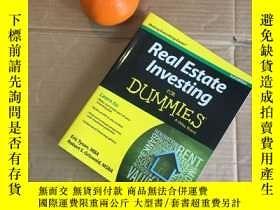 二手書博民逛書店Real罕見Estate Investing for Dummi