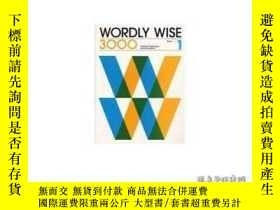 二手書博民逛書店Wordly罕見Wise 3000-言語智慧3000Y436638 Kenneth Hodkinson...