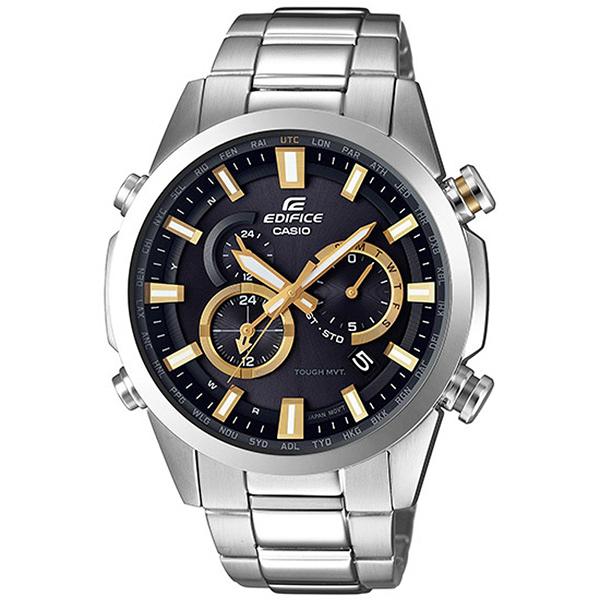 CASIO EDIFICE 越野極限太陽能電波腕錶-EQW-T640YD-1A9DR