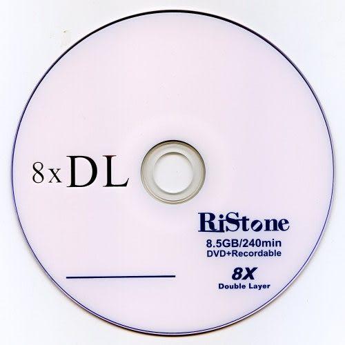 ◆下殺!!免運費◆RiStone 日本版 A+ DVD+R 8X DL 8.5GB 單面雙層燒錄片x 50P布丁桶◆XBOX 指定片◆