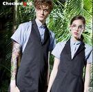 韓版圍裙男士時尚掛脖圍裙美甲個性圍裙廚房做飯圍裙圍裙工作服
