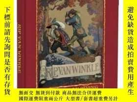 二手書博民逛書店Rip罕見Van Winkle(華盛頓·歐文《李伯大夢》,N.C