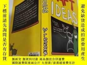 二手書博民逛書店daft罕見ideas 愚蠢的想法Y200392