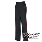 PolarStar 女 排汗針織運動長褲 『暗紅』P15326