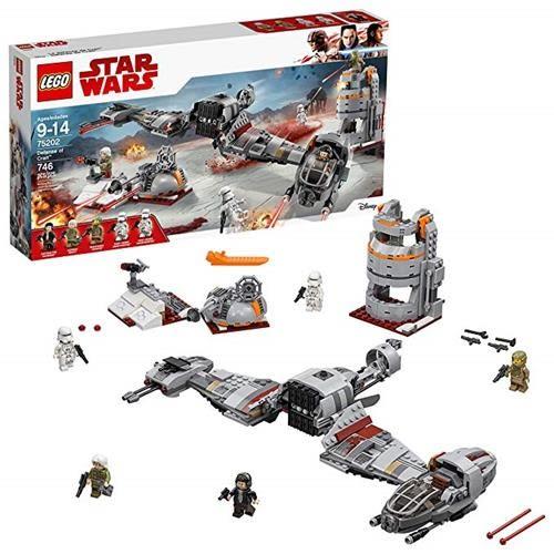 LEGO 樂高 Star Wars: The Last Jedi Defense of Crait 75202 Building Kit (746 Piece)