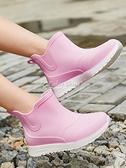 新款小學生雨鞋兒童中大童男童內膽保暖雨靴防滑防水鞋膠鞋女 快速出貨