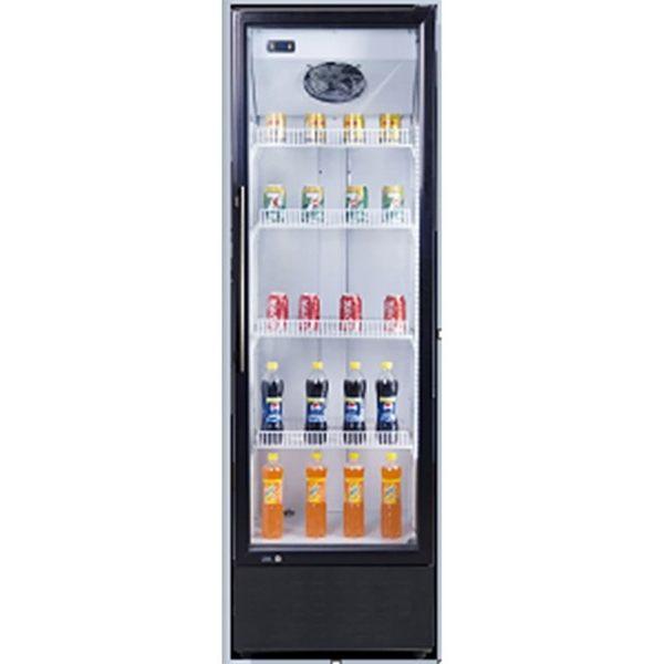 «0利率/免運費»Santa三特 420公升 6尺4 直立式冷藏櫃 SC-420F【南霸天電器百貨】