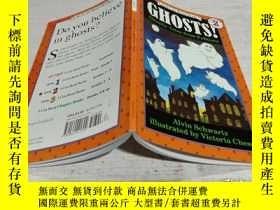 二手書博民逛書店Ghosts!:罕見Ghostly Tales from Folklore (I Can Read, Level