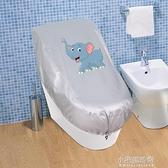 卡通圖案馬桶罩防水套坐便器蓋套智慧一體機防塵罩淋浴馬桶套罩子  【全館免運】