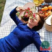 戶外野餐墊秋游墊子野餐布日式便攜防水野炊沙灘墊【福喜行】