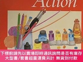 二手書博民逛書店Art罕見in Action: Grade 2-行動藝術:2年級Y414958 Guy Hubbard Hol