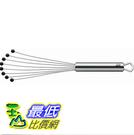 [2美國直購] 攪拌器 WMF 1872906010 Profi Plus 18/10 Stainless Steel Flat Whisk With Silicone Ball Ends 11 New