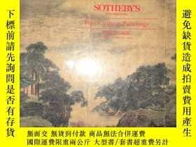 二手書博民逛書店F44罕見Fine Chinese Painting 1994