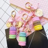 韓版可愛創意合金吊牌塔流蘇鑰匙扣卡通學生情侶包包掛飾小禮品 伊衫風尚