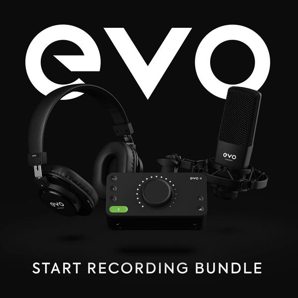 凱傑樂器 Audient EVO Start Recording Bundle 新手錄音套組 含錄音軟體