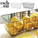 桌面收納籃 收納筐【H0410】鐵藝收納筐 收納籃 抽屜收納 分類籃 網格籃 置物籃 餐具架