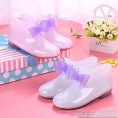 快速出貨 兒童雨鞋防滑男童女童雨靴公主中大童小孩小學生寶寶水鞋水靴膠鞋 【中秋鉅惠】