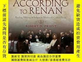 二手書博民逛書店The罕見Gospel According To RenanY256260 Robert D. Priest