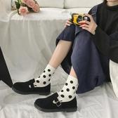 小皮鞋女英倫平底韓版百搭加絨單鞋女 秋款平底仙女風日系jk鞋  科炫數位