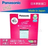 Panasonic 藍電池 國際牌 44B19L NS40 FIT SWIFT 日本原裝 電池 38B19L 哈家人