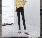 兩件打底褲女薄款2020新款緊身九分高腰顯瘦黑色韓版小腳鉛筆春季外穿 藍嵐