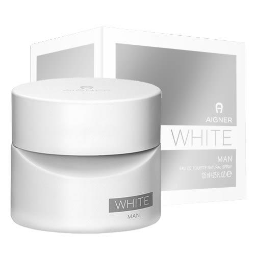 【AIGNER】 White MAN 白色經典 男性淡香水 125ml