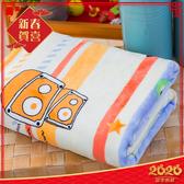 柔軟雙層加厚雪貂絨童毯(100x135cm) 小飛蛙