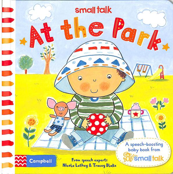 Small Talk:At The Park 寶寶去公園玩 硬頁書