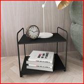 書架 北歐桌面辦公室書架收納架子簡易桌上多層臥室鐵藝置物架現代簡約WY