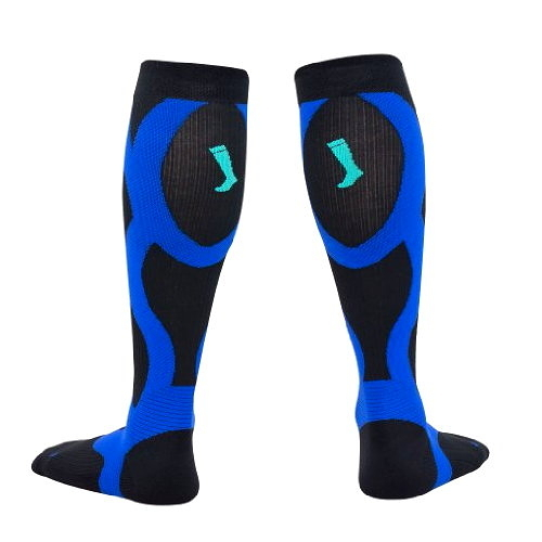 HOYISOX HYR1男女專業慢跑襪 馬拉松襪 路跑襪 20-30mmHg coolmax吸濕排汗抗菌除臭恢復快速壓縮襪壓力襪
