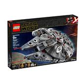 75257【LEGO 樂高積木】星際大戰Star Wars系列-千年鷹 (1353pcs)