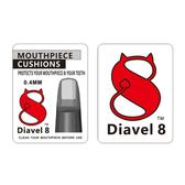 [唐尼樂器] Diavel 8 中音 高音 薩克斯風 豎笛 膠嘴 墊片 護片(透明 0.4mm 6片裝)