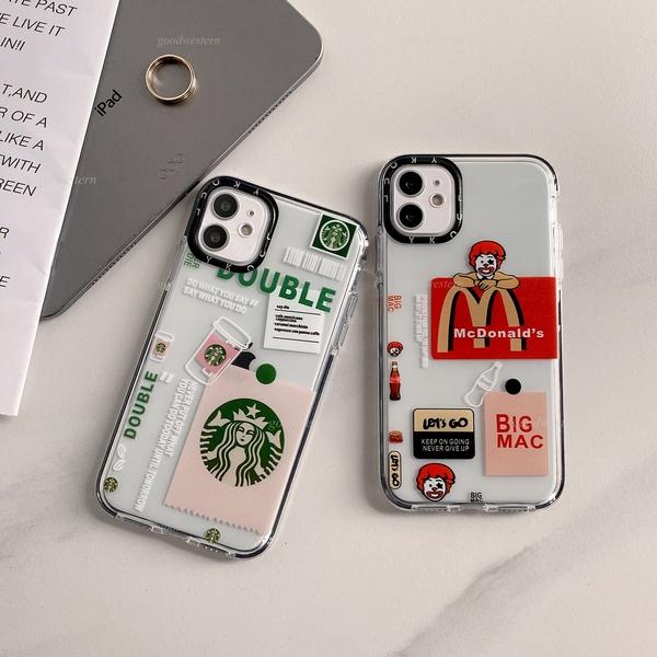 夯標籤 蘋果 iphone 12 11 Pro Xs Max XR SE2 i8 i7 i6s Plus 掛繩孔 手機殼 個性防摔 透明殼 熱門 軟殼